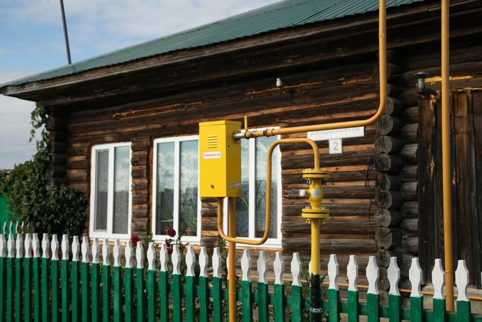 В одном из поселков Исетского района ввели в эксплуатацию новый газопровод