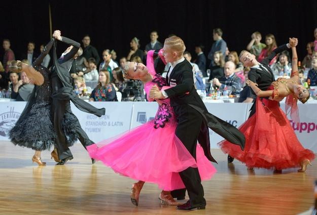 Кубок губернатора Тюменской области выиграли танцоры изСловакии