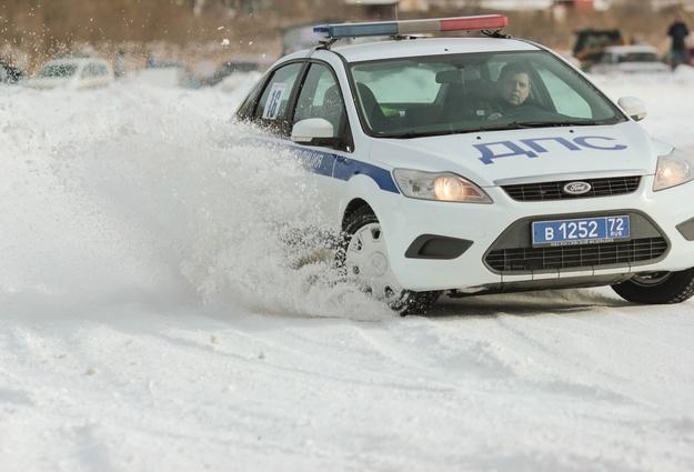 Тюменские полицейские устроят 23февраля «гонки нальду»
