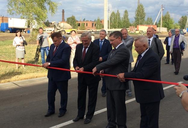 ВТюменской области открылась 2-ая очередь завода поглубокой переработке зерна