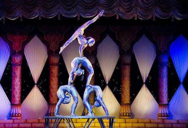 Детская цирковая студия вТюмени сообщила о собственных планах на 2017-й год