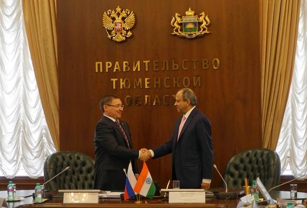 Тюменская область планирует сотрудничать сИндией всудостроительстве иIT-технологиях