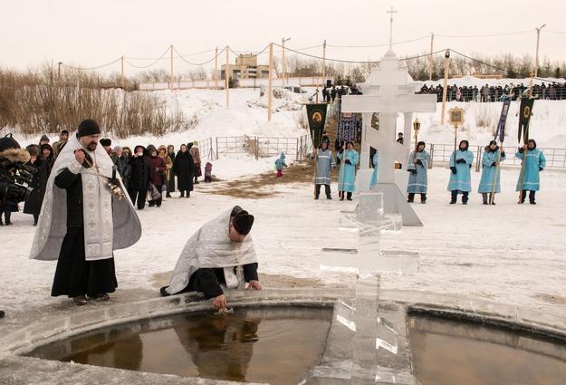ВТюменской области желающих окунуться вкрещенские купели будет больше