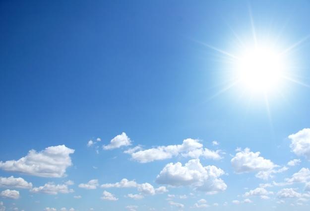 солнечный день фото