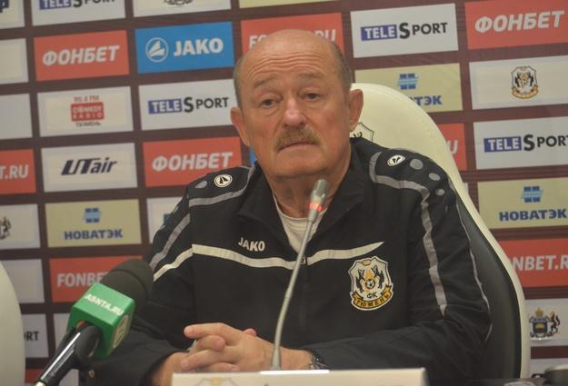 Александр Ивченко оставил пост основного тренераФК «Тюмень»