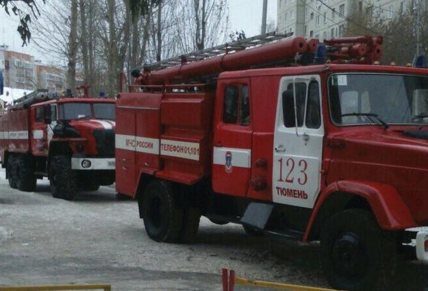 Возгорание в62 школе вТюмени оперативно устранено