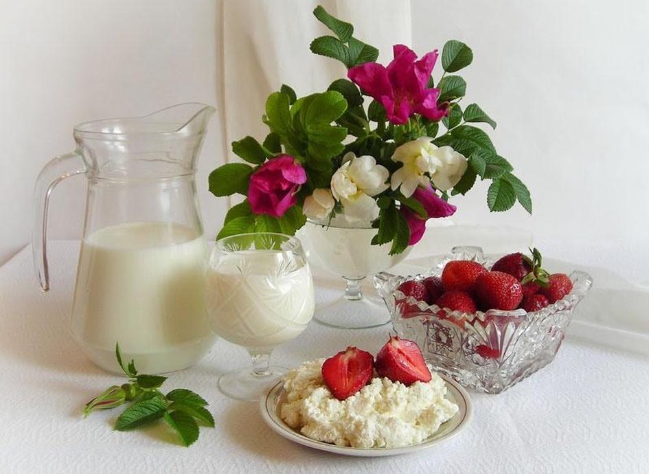 Картинки фрукты цветы доброе утро