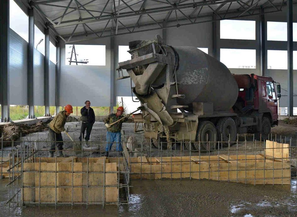 Производство бетона ишим сертификат соответствия цементного раствора