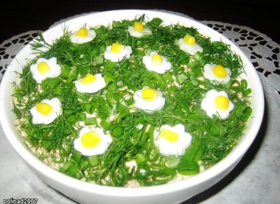 Салат весенний рецепт с