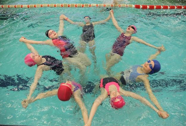 Секция плавание ветеранов