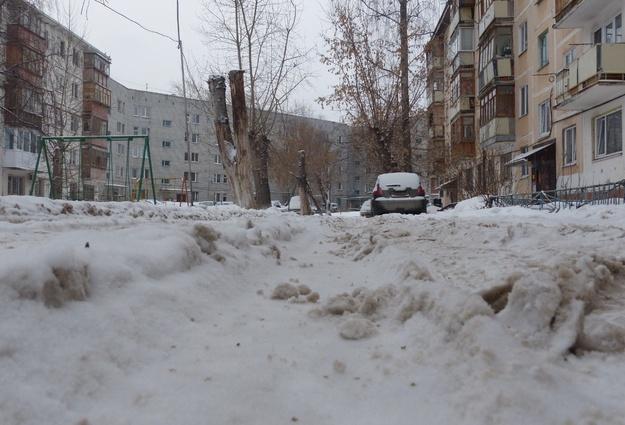 Снег должен быть вывезен содвора напротяжении трёх суток