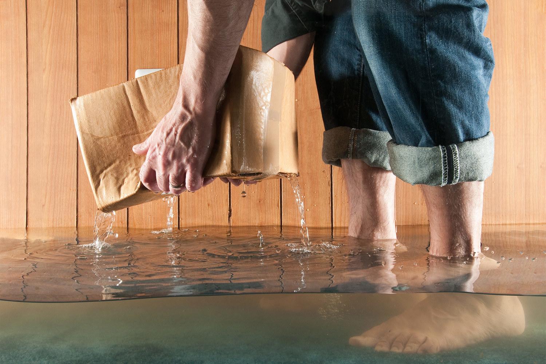 что делать если затопили