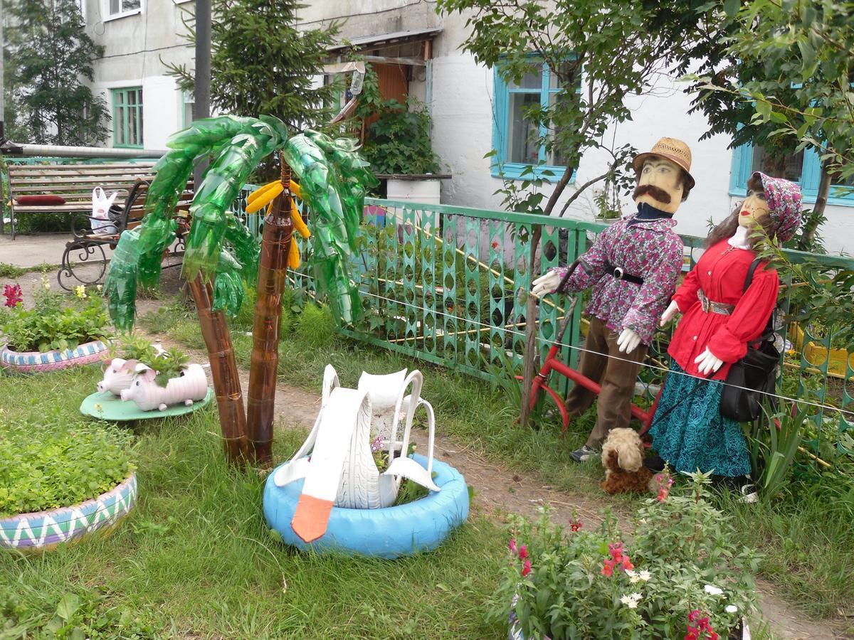 Как украсить двор частного дома своими руками на день рождения фото 7943