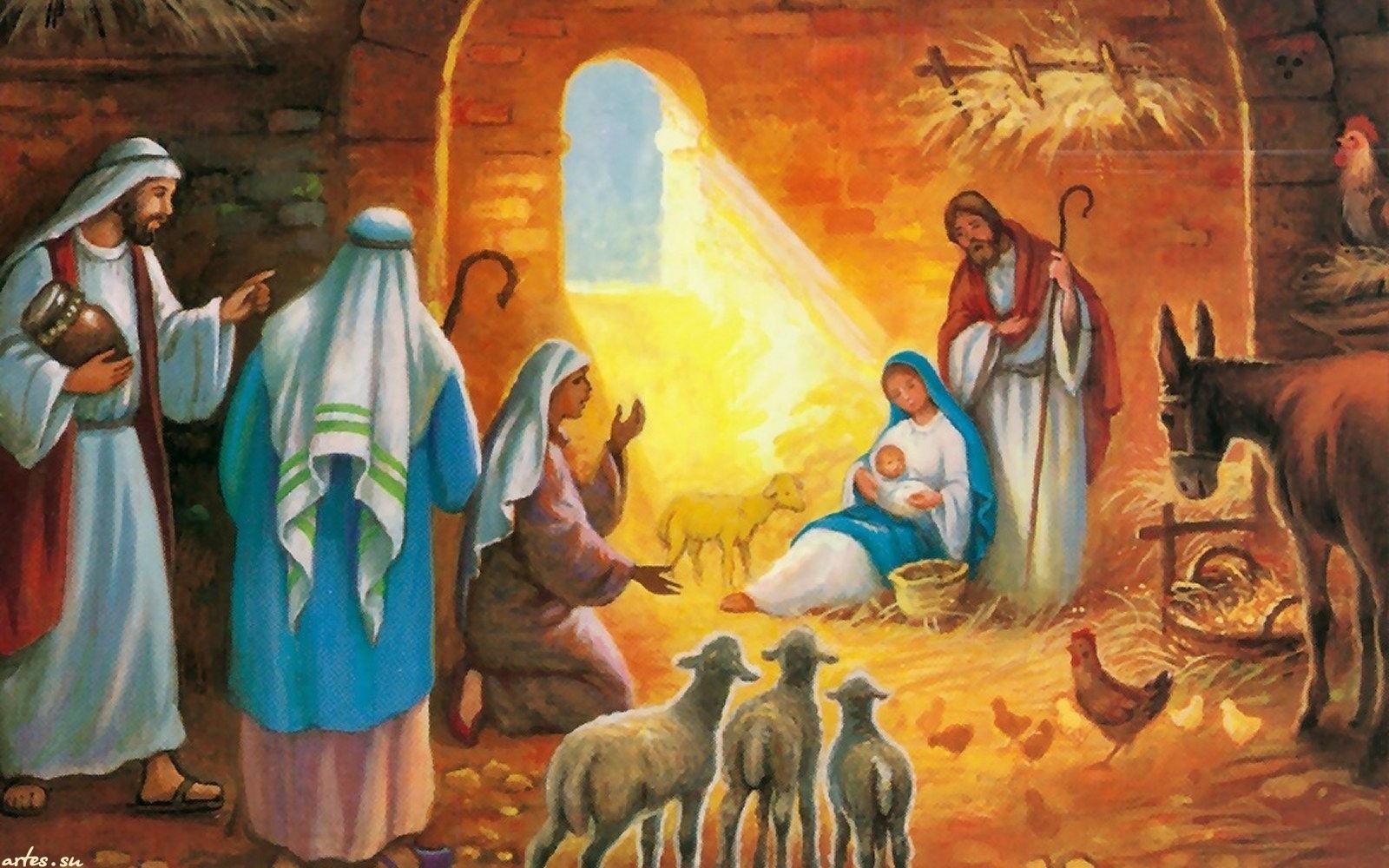 Рождество в картинках христианское, подарок своими руками