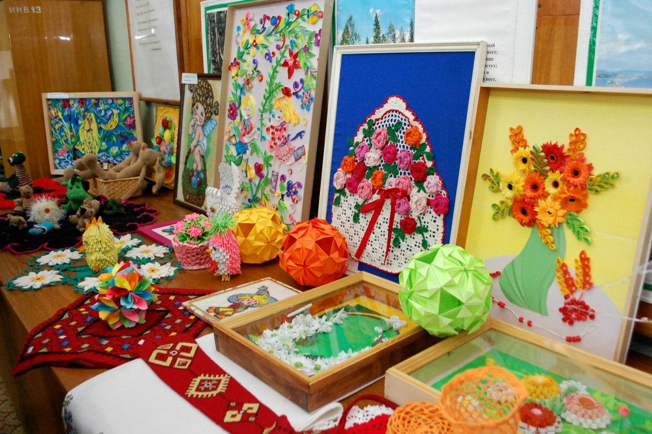 Поделки на региональную выставку