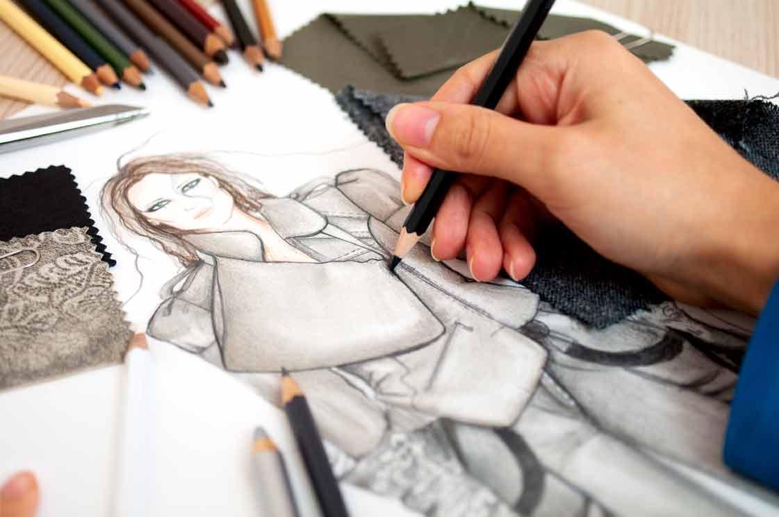 Дизайнер модельер одежды в картинках