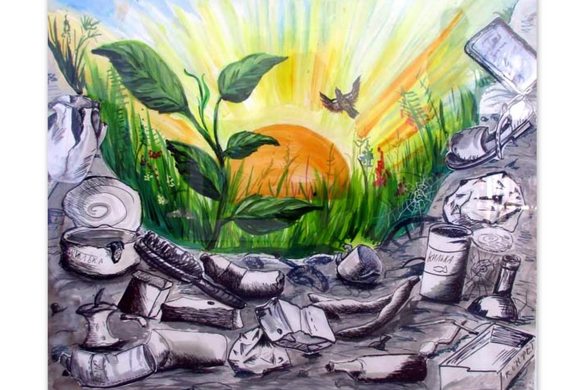 Картинки на экологическую тему детские