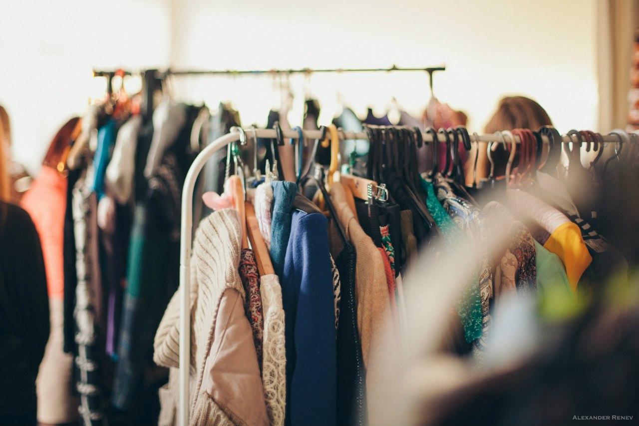 уникальное картинки обмен одежды растет