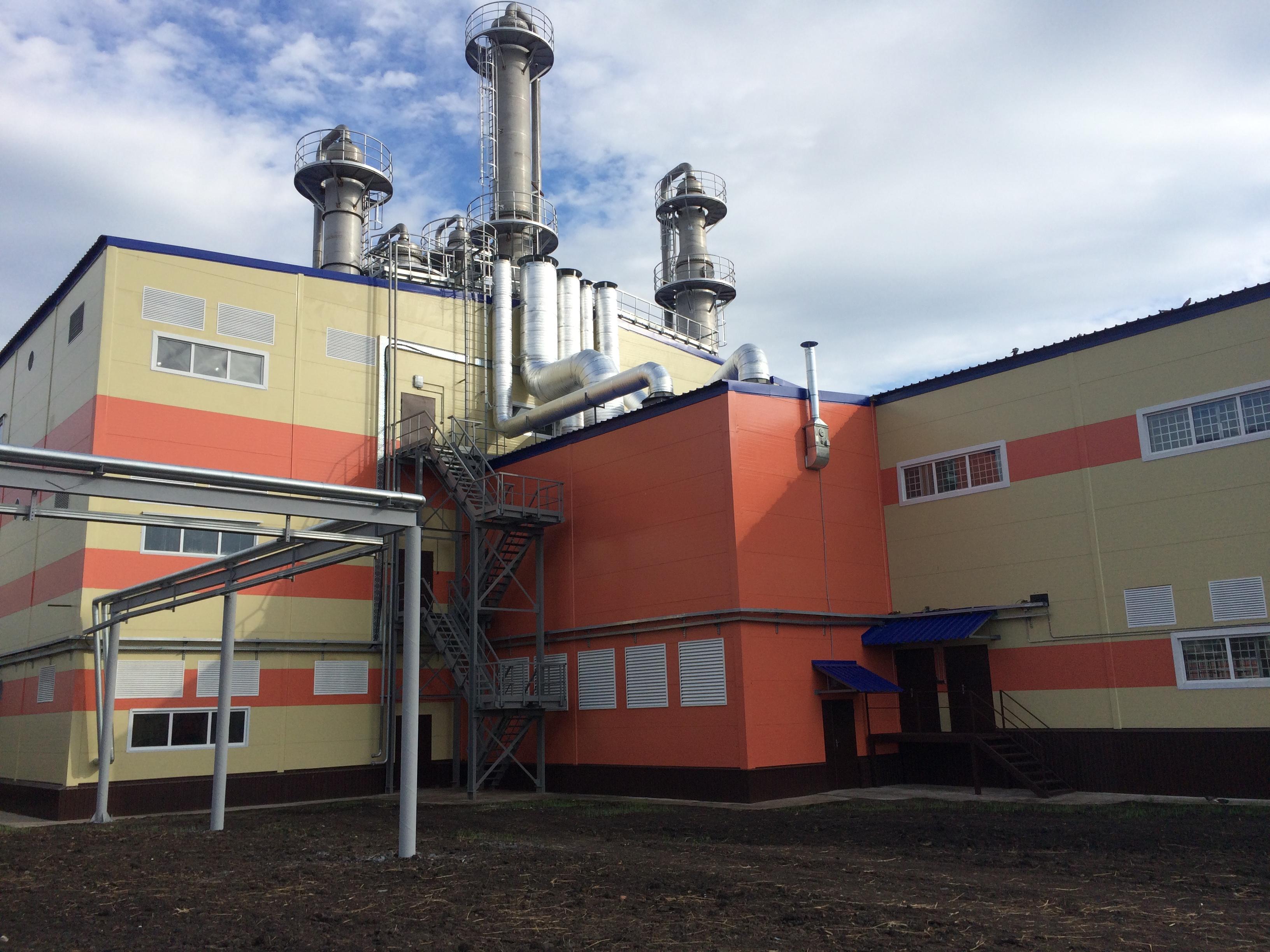 2-ая очередь завода поглубокой переработке зерна открылась вТюменской области