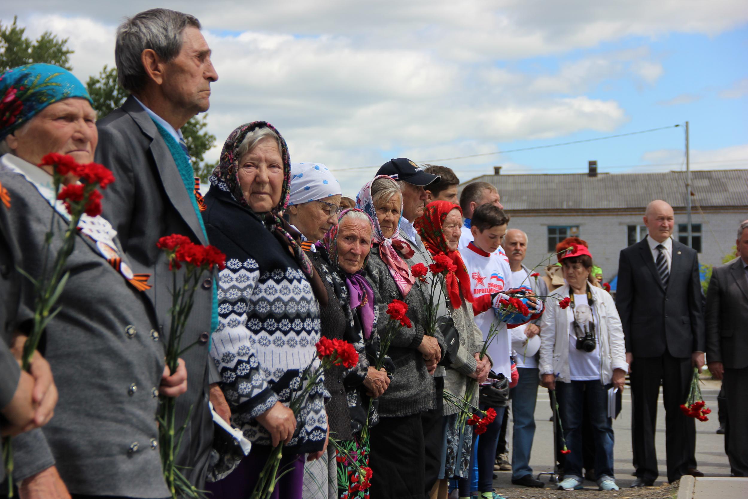 На митинге в Богандинском. Фото Павла Моргуна.